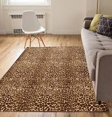 Wonderful Leopard Print Rug Combine With Bedroom Decor Animal Rugs Ebay Apply To Your Interior