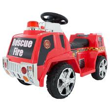 100 Fire Truck Ride On On Toy For Kids Battery Powered On Toy By Hey