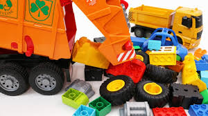 100 Kidds Trucks Learn Vehicles With Garbage Truck Construction And Toy Cars