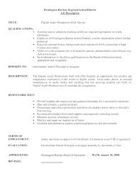 Examples Of Strong Resumes Bullet Point Resume Points In
