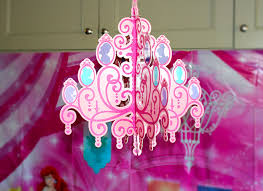 Princess Chandelier Birthday Party Idea