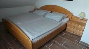 schlafzimmer komplett erle massiv bett schrank nachtschränke