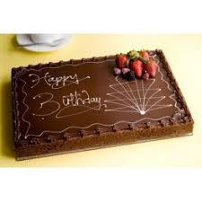 Happy Birthday Chocolate Cake Full