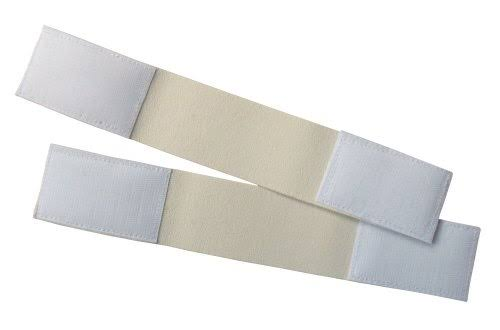 "A and R Sports Hockey Goalie Pads Strap - 11.5"", White"