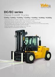 100 Yale Lift Trucks GDP80160DC EC PDF Catalogs Technical Documentation