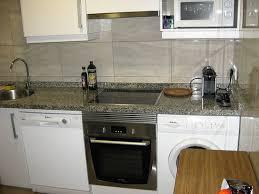 küchenzeile mit waschmaschine herd und ofen geschirrspüler