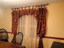 Dining Room Curtains And Valances Home Decor Collection Of Solutions For Ideas