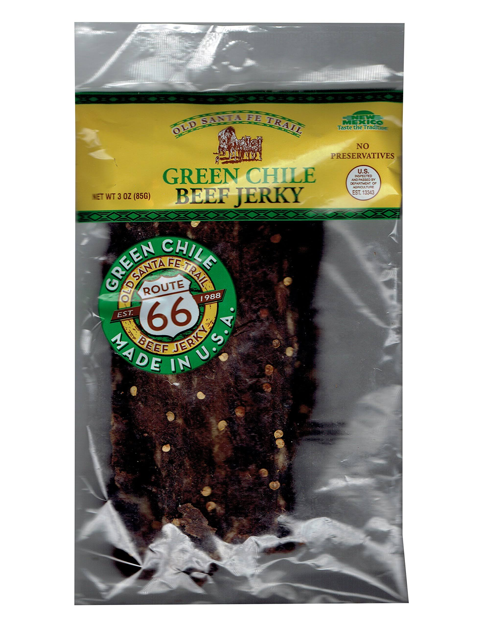 Arizona's Premium Beef Jerky, Green Chile - 3.01 oz