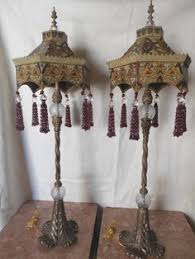 Maitland Smith Lamps Ebay by Pair Altar Candlestick Brass 3 Ft Church Chapel French Judaica