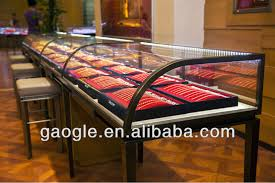 Led Lights With Retail Store Jewellery Display Case Furniturejewelry Showcases