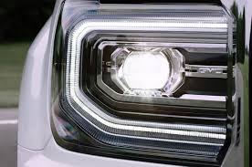 2016 gmc gets refreshed front fascia led headlights for