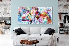 originale gemälde unikate abstrakte wandbilder für das