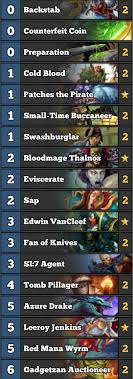 red mana wyrm in miracle rogue 60 winrate to legend