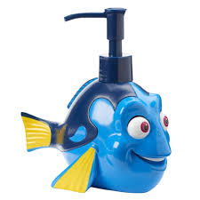Disney Finding Nemo Bathroom Accessories by Pixar Finding Dory Dory Soap Pump By Jumping Beans