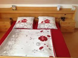 schlafzimmer doppelbett schrank kommode eiche hell