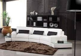 canape arondi deco in canape d angle arrondi cuir noir atlanta can