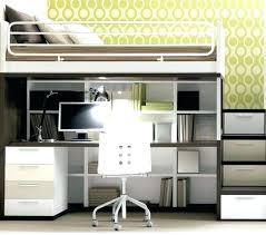 ameublement bureau lit avec bureau pour fille lit mezzanine ado avec bureau et