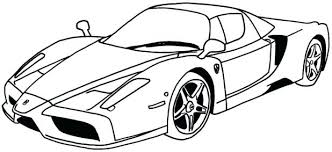 Race Car Coloring Pages For Toddlers New Sports Printable Pdf Online