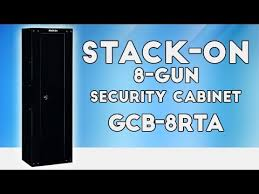 Stack On Security Cabinet 8 Gun by Stack On 8 Gun Security Cabinet Gcb 8rta Youtube