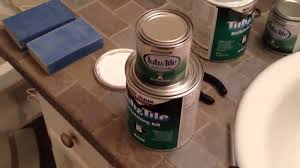 Homax Tub And Tile Epoxy Paint by How To Paint Bathtub And Tile With Rust Oleum Tub And Tile Step
