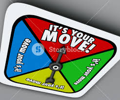 Its Your Move Words On A Game Board Spinner Telling You To Take Turn And Advance Forward In Competition Job Career Or Life