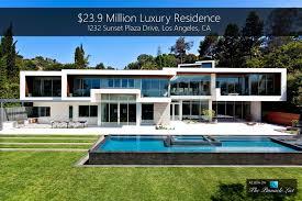100 Modern Houses Los Angeles Sunset Strip Luxury Residence 1232 Sunset Plaza Drive