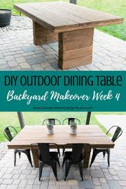 DIY Outdoor Dining Table | Patio Designs Research | Diy ... Garrison 14900 By Standard Fniture Curated Console Table Universal Danish Modern 1960s Ding Room W 6 Garrison 5 Piece Ding Set Side 102911 In Cherry Coaster Woptions Grey Rectangle 7pc Super Co Ry51 Advancedmasgebysara End 3pc Wood Top Coffee Native Citizen Vig 3pc Walnut Set New Piece Chic Settable And 4 Chairswhitesage Finish