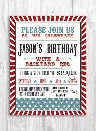 Idea For Our Housewarming Party Invite Printable BBQ Invitation