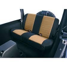 Seat Cover-Custom Neoprene Seat Cover Rear Rugged Ridge 13262.04 | EBay