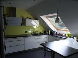 häcker systemat in offenem dachgeschoss küchenplanung einer
