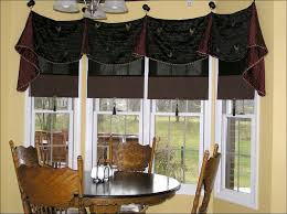 White Kitchen Curtains Valances by Kitchen Tier Curtains Balloon Valance Red And Black Curtains