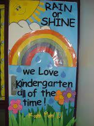 backyards spring classroom door decorations rain flea market