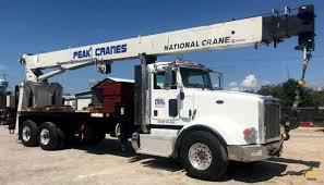 100 26 Truck National 9103A Ton Boom Crane On Peterbilt 367 SOLD S
