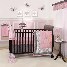 lambs ivy duchess 11 pc crib bedding set include diaper stacker