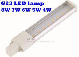 g23 2 pin led l replace pls 11w 13w 2700k 6500k 2g7 230v 220v