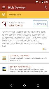 Amazon Bible Gateway Appstore for Android