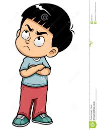 Angry Student Clipart