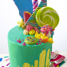 Cakes Decorated With Sweets by Cakes Decorated With Candy Billingsblessingbags Org
