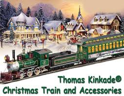 Thomas Kinkade Christmas Tree For Sale by Thomas Kinkade Christmas Train And Accessories