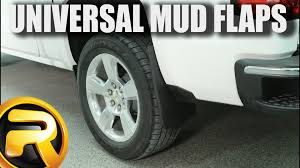 How to Install Husky Liners Universal Fit Molded Mud Flaps