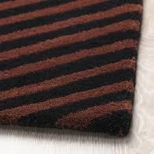 lerbjerg teppich kurzflor schwarz weiß grün 80x150 cm