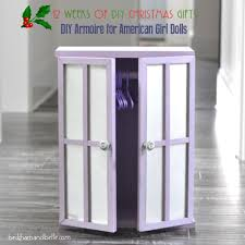 DIY Closet / Armoire For American Girl Dolls - Beckham + Belle Sheilas Fniture And Crafts Made Pieces For Reese 18 Doll Armoire Victorian Wardrobe Storage Trunk American Girl American Doll Clothes Closet Roselawnlutheran Ana White For Diy Projects Impressive Unfinished Dollhouse 116 Wood Closetarmoire Amazoncom Inch Wish Crown Closet Our Generation Pink Lil