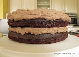 Black Magic Chocolate Cake