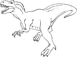 Coloriage Tyrannosaure à Imprimer Vous Tout Simplement