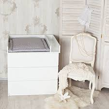 Ikea Brusali Chest Of Drawers by Changing Top With Separate Compartment Changing Table Top In