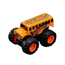 100 Orange Truck Shop Baidercor Monster S Friction Powered Toy Car By
