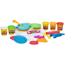 Play Doh Kitchen Creations Sizzlin Stovetop Walmart