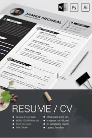 James Micheal Resume Template