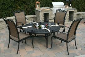 6 Person Patio Set Canada by Round Aluminum Patio Table Gallery Table Design Ideas