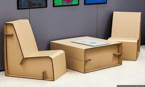 Cardboard Furniture Diy